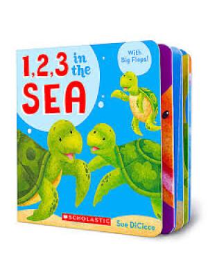 """1, 2, 3 in the Sea <span class=""""author"""" >Sue Dicicco</span>"""