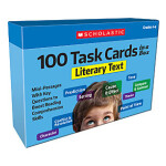 "100 Task Cards in a Box Literacy Text Grades 4-6 <span class=""author"" >Scholastic</span>"