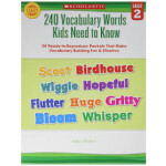 "240 Vocabulary Words Kids Need To Know Grade 2 <span class=""author"" >Linda Ward Beech</span>"