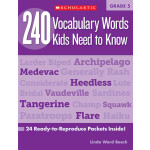 "240 Vocabulary Words Kids Need To Know Grade 5 <span class=""author"" >Linda Ward Beech</span>"