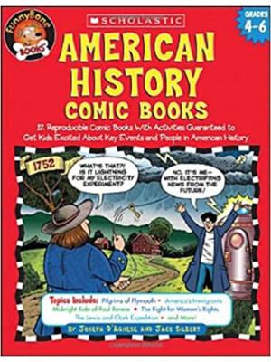 "American History Comic Books <span class=""author"" >Jack Silbert, Joseph D'agnese</span>"
