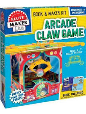 """Arcade Claw Game <span class=""""author"""" >Editors of Klutz</span>"""