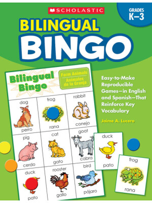 "Bilingual Bingo Grades K-3 <span class=""author"" >Jaime A Lucero</span>"