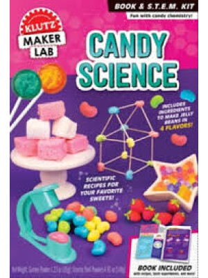 """Candy Science <span class=""""author"""" >Editors of Klutz</span>"""