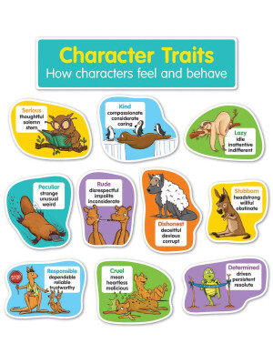 "Character Traits Bulletin Board Set <span class=""author"" >Scholastic</span>"