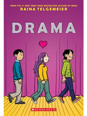 "Drama <span class=""author"" >Raina Telgemeier</span>"