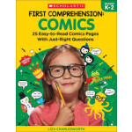 "First Comprehension: Comics <span class=""author"" >Immacula A. Rhodes, Liza Charleswort</span>"