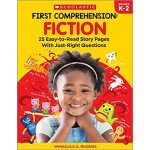 """First Comprehension: Fiction: 25 Easy-to-Read Story Pages With Just-Right Questions <span class=""""author"""" >Immacula A. Rhodes</span>"""
