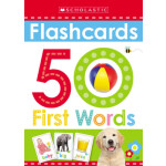 """50 First Words Flashcards: Scholastic Early Learners (Flashcards) <span class=""""author"""" >Scholastic</span>"""
