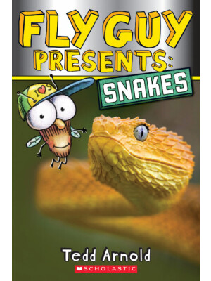 "Fly Guy Presents: Snakes (Scholastic Reader, Level 2) <span class=""author"" >Tedd Arnold </span>"
