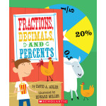 """Fractions, Decimals, and Percents <span class=""""author"""" >David A. Adler</span>"""