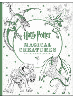"""Harry Potter Magical Creatures Coloring Book <span class=""""author"""" >Scholastic</span>"""