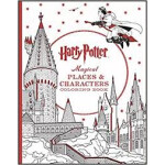 """Harry Potter Magical Places & Characters Coloring Book <span class=""""author"""" >Scholastic</span>"""