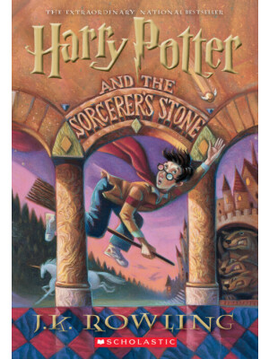 "Harry Potter and the Sorcerer's Stone <span class=""author"" >J.K. Rowling</span>"
