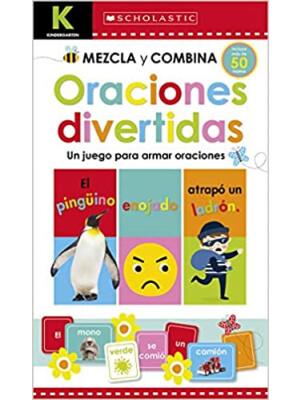 """Kindergarten Mezcla y combina: Oraciones divertidas: (Workbook) <span class=""""author"""" >Scholastic, Scholastic Early Learners</span>"""