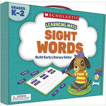 """Learning Mats: Sight Words <span class=""""author"""" >Scholastic</span>"""