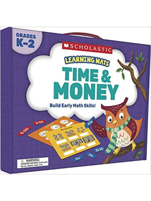 """Learning Mats: Time & Money <span class=""""author"""" >Scholastic</span>"""