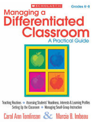 """Managing a Differentiated Classroom: A Practical Guide (English Edition) <span class=""""author"""" >Carol Tomlinso Marcia Imbeau</span>"""