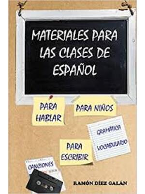 """Materiales para clase de español <span class=""""author"""" >Ramón Díez Galán</span>"""