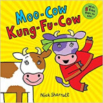 "Moo-Cow Kung-Fu-Cow <span class=""author"" >Nick Sharratt</span>"