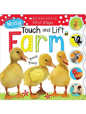 """Noisy Touch and Lift Farm: Scholastic Early Learners (Touch and Lift) <span class=""""author"""" >Scholastic, Scholastic Early Learners</span>"""