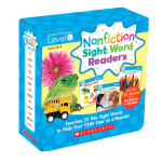 "Nonfiction Sight Word Readers Parent Pack Level B: Teaches 25 key Sight Words to Help Your Child Soar as a Reader! (Nonfiction Sight Word Readers Parent Packs) <span class=""author"" >Liza Charlesworth</span>"