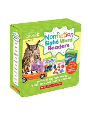 """Nonfiction Sight Word Readers Parent Pack Level C: Teaches 25 key Sight Words to Help Your Child Soar as a Reader! <span class=""""author"""" >Liza Charlesworth</span>"""