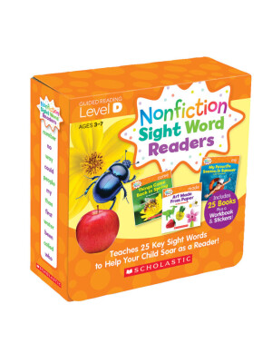 "Nonfiction Sight Word Readers Parent Pack Level D: Teaches 25 key Sight Words to Help Your Child Soar as a Reader!  <span class=""author"" >Liza Charlesworth</span>"