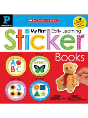 """Early Learning Sticker Workbook (Scholastic Early Learners) <span class=""""author"""" >null Scholastic</span>"""