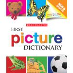 """Firts Picture Dictionay <span class=""""author"""" >Genevieve de La Bretesche, Scholastic</span>"""