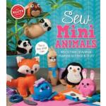 "coser mini animales, Klutz libro y Craft Kit, Make animales de peluche <span class=""author"" >Editors of Klutz</span>"