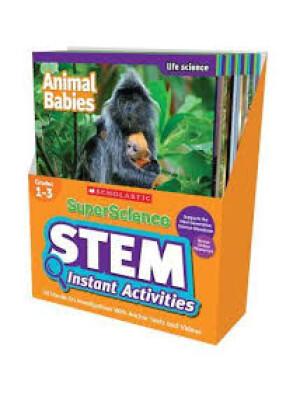 "Super Science STEM Instant Activities Grades 1-3 <span class=""author"" >Katherine Burkett</span>"