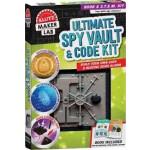 "Klutz Maker Lab Ultimate Spy Vault & Code Kit <span class=""author"" >Editors of Klutz</span>"