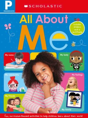 """All About me Workbook: Scholastic Early Learners (workbook) <span class=""""author"""" ></span>"""